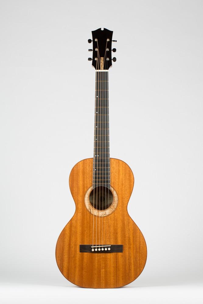 full Front Parlor Guitar | Kazourian Luthier Montréal