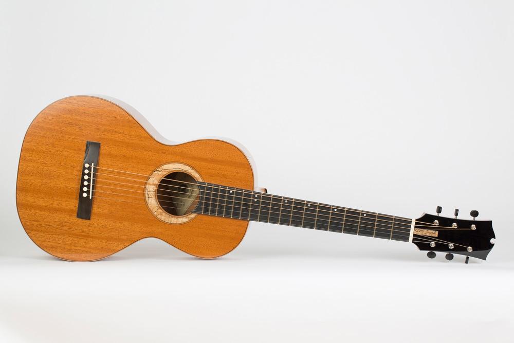 Front Parlor Guitar | Kazourian Luthier Montréal