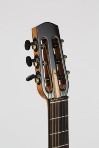 detail head Gypsy Parlor Guitar | Kazourian Luthier