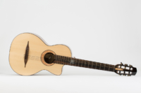 Front Gypsy Parlor Guitar   Kazourian Luthier